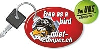Wohnmobil & Camper mieten | Zürich, Winterthur, Thurgau Logo